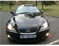 2007 LEXUS IS 250 SE