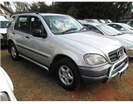2001 Mercedes Benz ML320 5 Seater