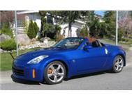 2007 Nissan 350Z Roadster Only 75000Kms