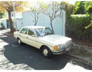 Mercedes Benz 230 W123 Manual Immaculate!
