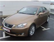 2010 Lexus IS 250 6A beige 78000km R259995 (tcg)