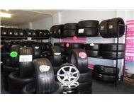 TYRES: USED GOOD QUALITY