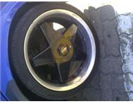 17 rims and tyres for sale