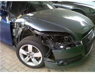2010 AUDI TT 2L FSI TURBO DSG SLIT ACCIDENT DAMAGE