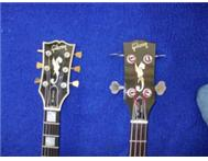 Pair of Vintage Gibson Rd Artist Guitars - Electric and Bass