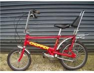chopper bicycle wanted any condition