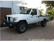2010 TOYOTA LANDCRUISER 4.2 D PICK- UP