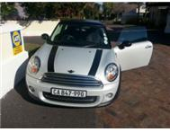 Mini Cooper ( Silver with Black Stripes )