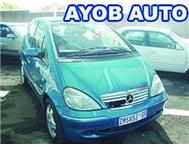 MERCEDES BENZ A160 Man. 2002. R/CD ... Johannesburg