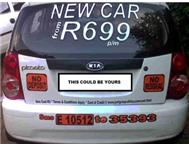 Drive a NEW car from R 599/699/...