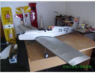 2 meter W/span low wing R/C model aircraft.