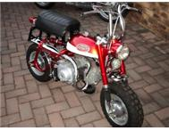 Z50A K2 Honda Mini Trail monkey restored