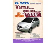 DRIVE A NEW CAR FOR R 999P/M 4 YR...