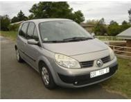 Renault Scenic II 1.6 Expression Manual. Full Service History.