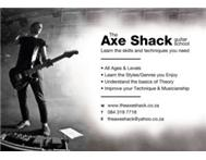 The Axe Shack - Guitar Lessons