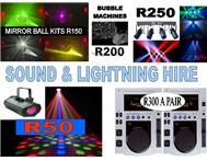 SOUND HIRE SHOP