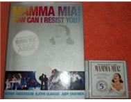 Collectors Item ABBA Mamma Mia Coffee Table Book and matching CD