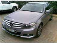 2012 MERCEDES-BENZ C-CLASS C200 BE AUTO AVANTGARDE