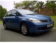 CHEAP 2007 NISSAN TIIDA 1.6 SEDAN AUTOMATIC 132000km ONLY!
