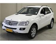 MERCEDES BENZ ML 320 CDI AUTO 2007 MODEL 127 000KMS @ R285 995