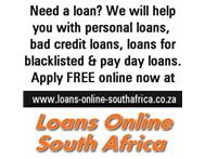Looking for loans online in South Africa?