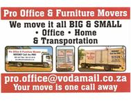 PRO OFFICE & FURNITURE MOVERS