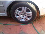 jetta golf 4 tdi rims with tires