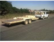 BAKKIE & TRAILER FOR HIRE