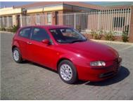 ALFA ROMEO 147 SELESPEED 5 SPEED MANUAL E/W P/S A/C RADIO L/SEAT