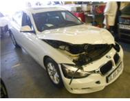 BMW 320i 2012 CODE 2 ACCIDENT DAMAGED
