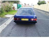 Ford escort FWD 1.3L 4speed 1986 model