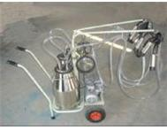 Single & double portable cow milking machines for sale