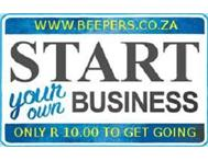 BEEPERS Start Your Own in Telephone & Cell Phone Gauteng Pretoria - South Africa