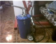 GREASE DRUM 20 LITRE FOR SALE LEVER...