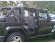 Reliable Jeep wrangler unlimited 5doors with hard & soft top