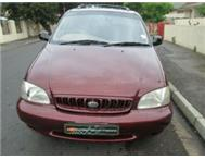2001 KIA CARNIVAL LOW MILAGE EXCELLENT CONDITION