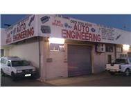 Engineering and general automotive repair business for sale.