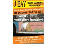 JBay Laundry & Cleaning Cleaning Laundry Carpets Upholstery Post Construction Holiday Homes