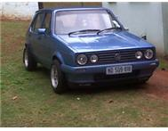 Vw Golf 1.6 Tossa Blue