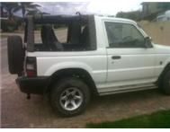 Bargain WHITE 4X4 PAJERO FOR SALE