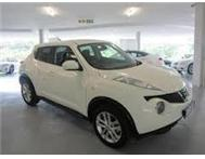 Drive and own a new Nissan Juke 1.6 Acenta from R 2799 p/m