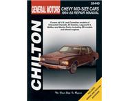 Chilton C28440 General Motors Chevy Mid-Size Cars Repair Manual 1964-1988