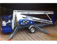 Nifty lift portable trailer-mounted cherry picker