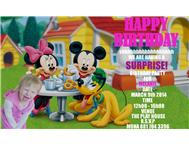 KIDDIES DISNEY INVITATIONS SPECIAL