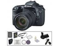 Brand New Canon EOS 7D Digital SLR Deluxe Accessory Kit