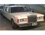 Classic Lincoln Stretch Limousine Car Hire Rental