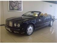 2009 BENTLEY AZURE V8 TWINTURBO CHARGED 336KW