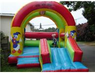 Jumping castle and waterslide hire....