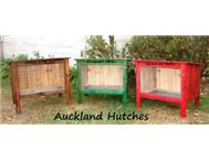 Single tier rabbit hutches