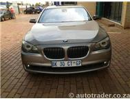2009 BMW 7 SERIES 750i L 4dr Auto